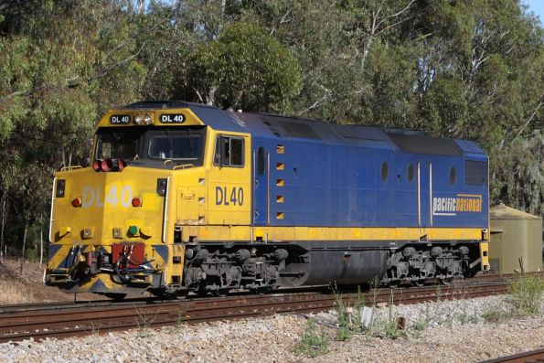 Pacific National DL40 light engine at Torrens Junction