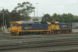 South Dynon shunters 8115 and T379 stabled between jobs