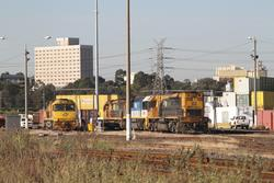 Aurizon 6029 with LDP006 and LDP003 at the North Dynon fuel point