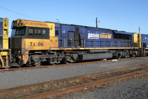 TT108 in the consist of SM2