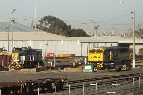 T369 and 1108 stabled at North Dynon