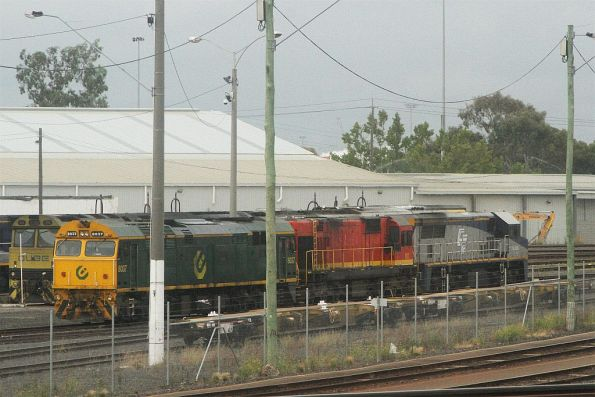 1872 stabled at the North Dynon fuel point with 8037 and VL355