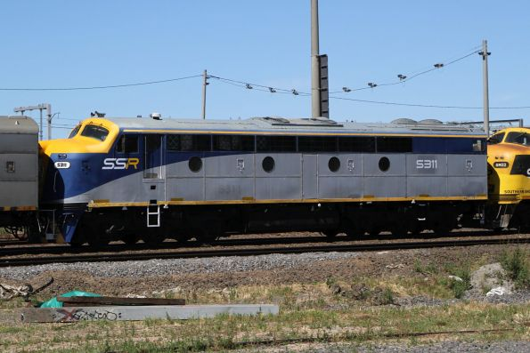 S311 now with SSR, still in the CFCLA livery but their logos have been stripped off