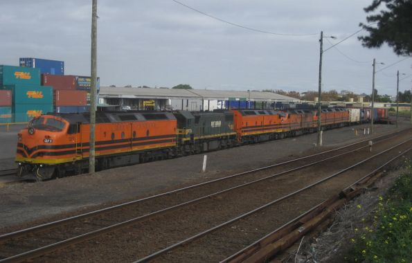 CLF3, X54, CLP12, CLP10, CLF7 and CLF1 at North Dynon