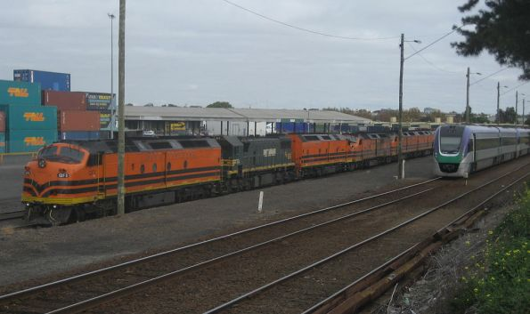 VLocity and a lot of CLPs at North Dynon