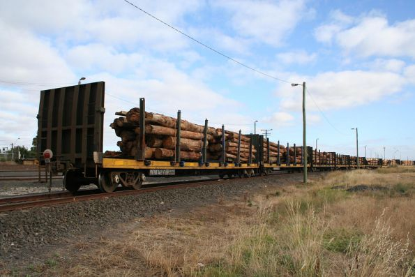 Pacific National log trains