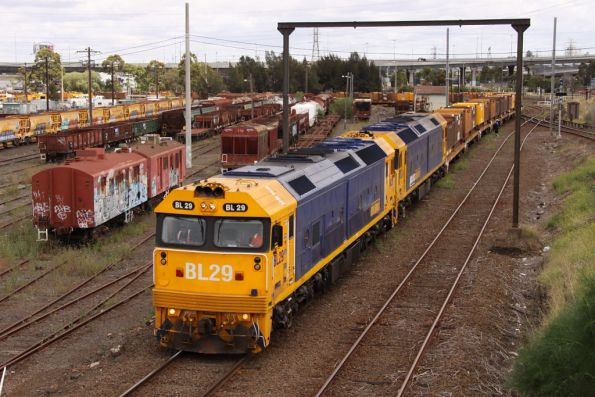 BL29 leads BL34 off the reversing loop bound for Long Island