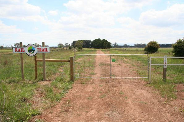 West of station site, Traralgon-Maffra Road, Tinamba