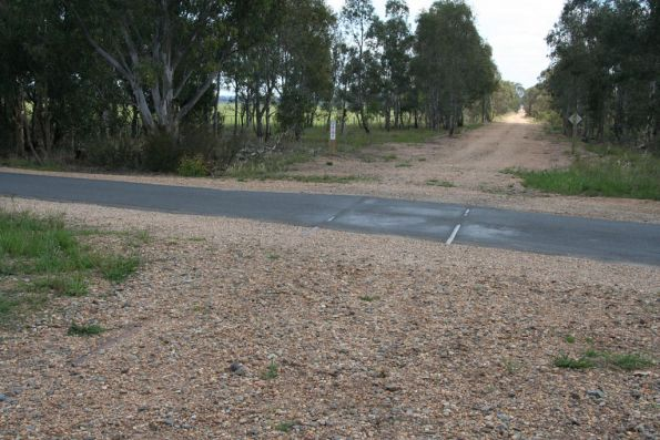 Heyfield-Upper Maffra Road at Tinamba