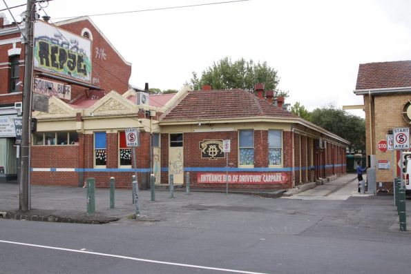 Melbourne Tramways & Omnibus Company office on Queens Parade at Clifton Hill