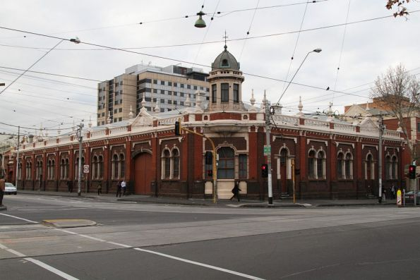 Remnants of the Melbourne cable tramways