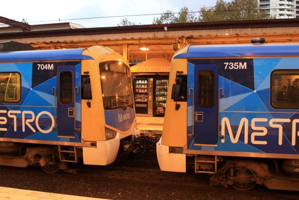 Melbourne suburban Digital Train Radio System