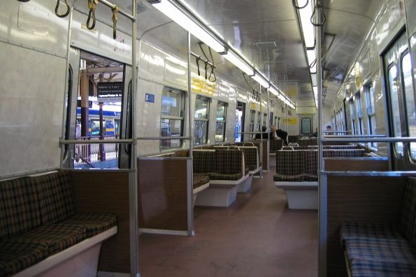 Inside of a Hitachi M car