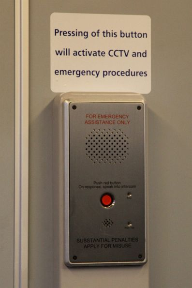 New emergency intercom panels inside X'Trapolis 955M