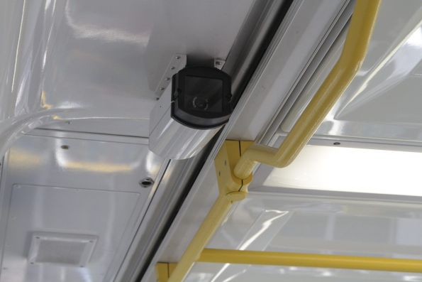 Long forgotten additional CCTV cameras fitted onboard 1116T