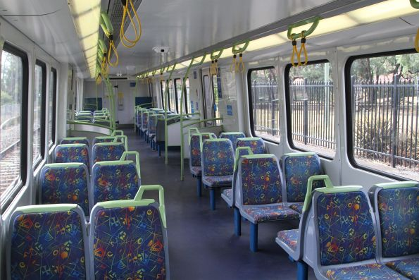 Onboard empty X'Trapolis carriage 923M