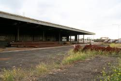 South Yard cement shed, now in the steel terminal