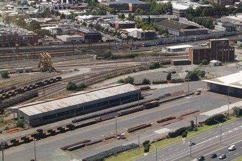 South end of the Melbourne Steel Terminal