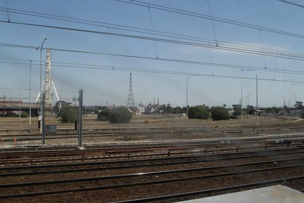 Nothing left at the Melbourne Steel Terminal except bare dirt - it was closed to rail traffic a week earlier