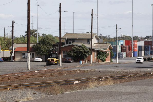 Crew office at the city end of North Dynon yard