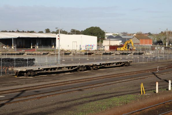 The QRN wagon repair depot moved from beside the Fruit Shed to alongside the Agents Siding