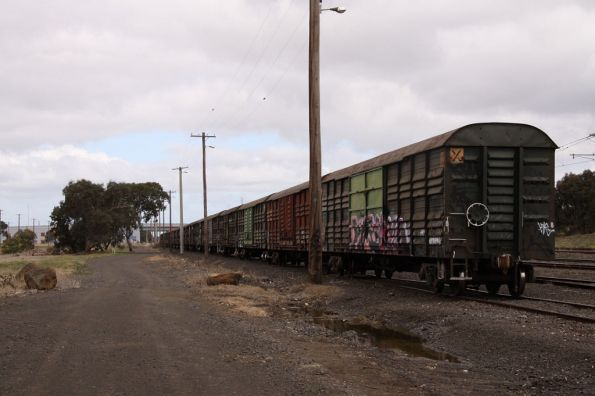 In the SG siding, they had been moved from Bandiana a few days earlier