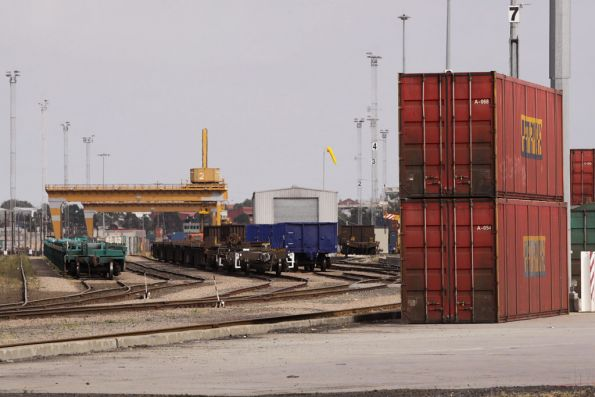 Looking west down the Melbourne Freight Terminal, South Dynon
