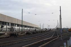 Looking west down the Melbourne Operations Terminal sidings