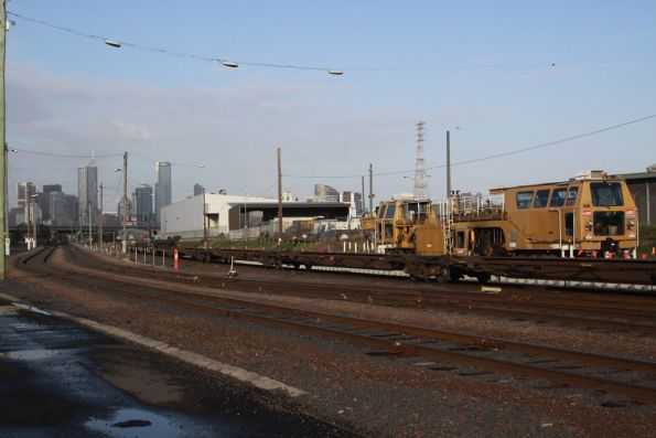 Looking east down the regauged Shaws Siding and Melbourne Operations Terminal