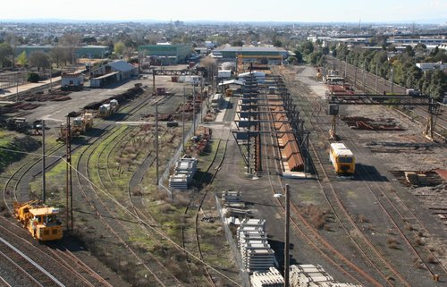Spotswood depot from the south