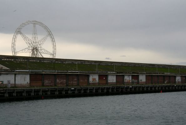 Shed 21 and the giant hamster wheel