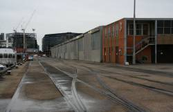 Looking up the sidings towards shed 3