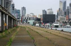 Looking back to Melbourne Yard