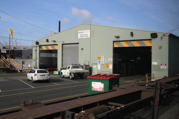 East end of Pacific National's Melbourne Wagon Shop