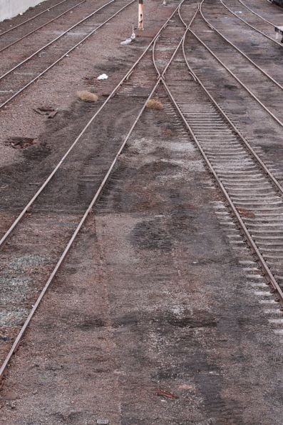 Ripped up track at the Wagon Storage Yard