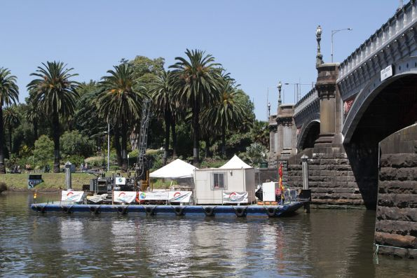 Geotechnical investigation on the Yarra River at Princes Bridge