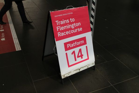 Special trains to Flemington Racecourse and Melbourne Showgrounds