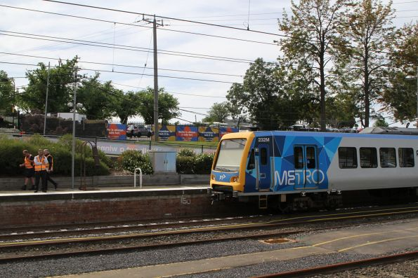 X'Trapolis 232M waiting at Flemington Racecourse platform 2