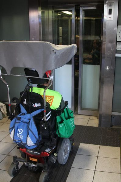 Woeful lifts at Flinders Street Station - they take forever to arrive, and can only fit two prams or wheelchairs at a time