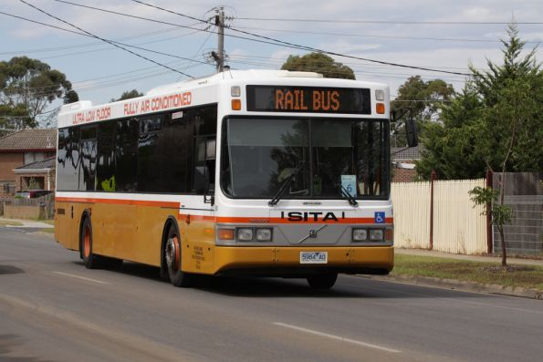 Sita bus #51 rego 5984AO runs a rail replacement service at Laverton