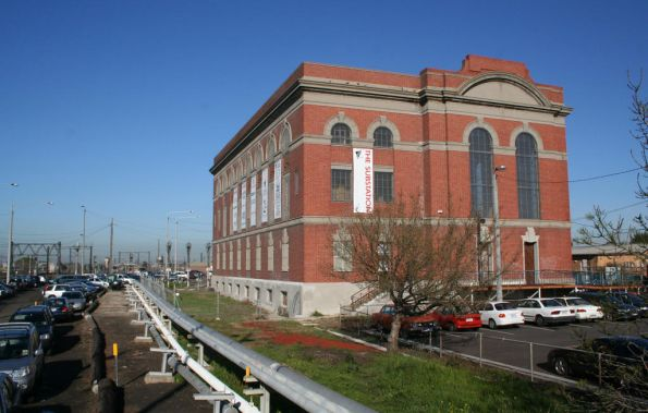 Newport substation, now a community arts centre
