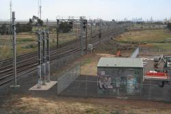Laverton tie station, commissioned in the 1990s