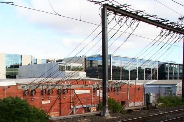 Cremorne substation, commissioned in 1972 with 5000 kW capacity