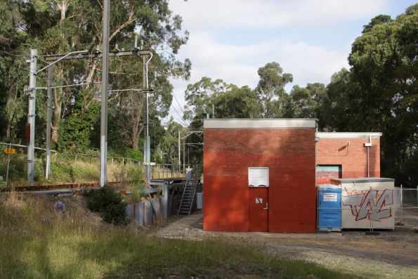 Upwey substation at the down end of the station, commissioned in 1962 with 3000 kW capacity