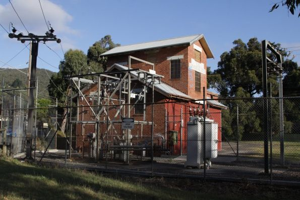 Ferntree Gully substation: 1,500 kW capacity commissioned in 1957