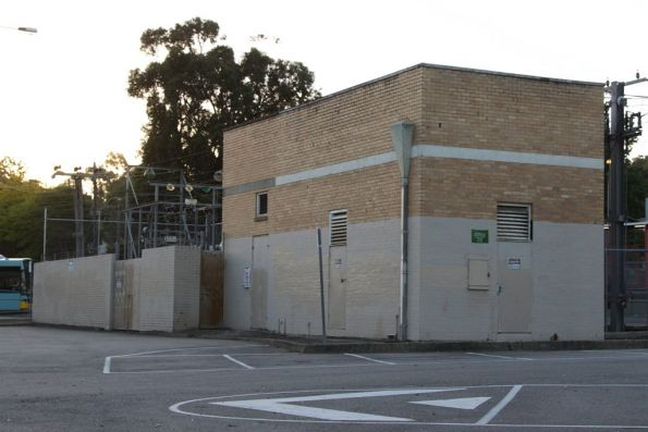 Croydon substation, in the railway station car park. Commissioned in 1969 with 1500 kW capacity