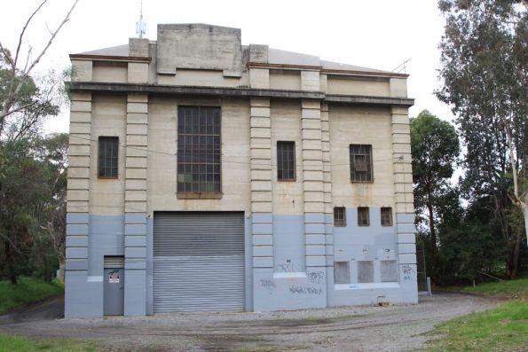 East Camberwell substation, the current 1,500 kW of 50 Hz operated equipment commissioned in 1960 inside an existing building