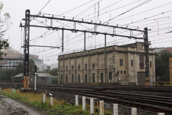 Caulfield substation, original building dating from the original electrification of the suburban network in the 1910s