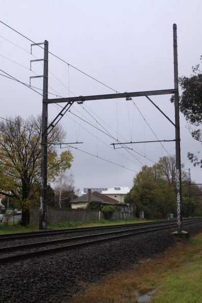 22 kV AC feeder along the Dandenong line at Murrumbeena