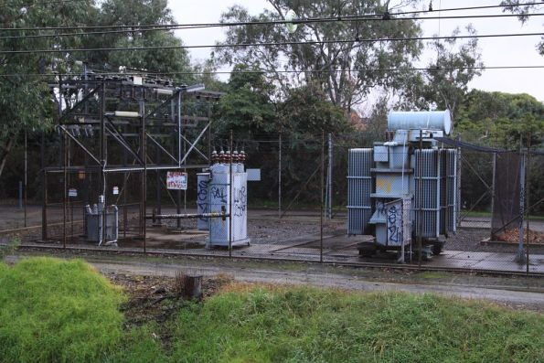 Ashburton substation: aging transformers and circuit breakers in the switchyard
